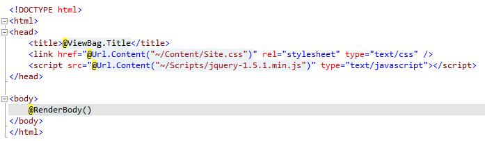 ASP.NET MVC 3: Layout pages com Razor (1/5)